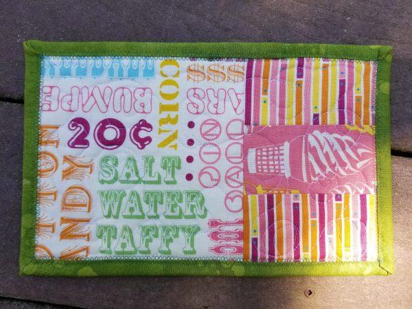 boardwalk mug rug