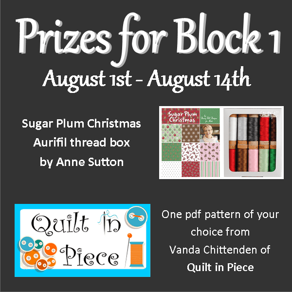 quilt-a-long block one prizes
