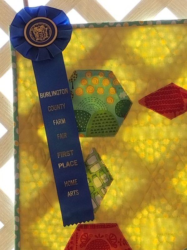 quilt challenge ribbon