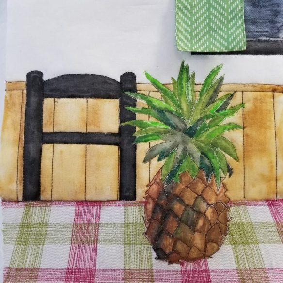 Pineapple in progress