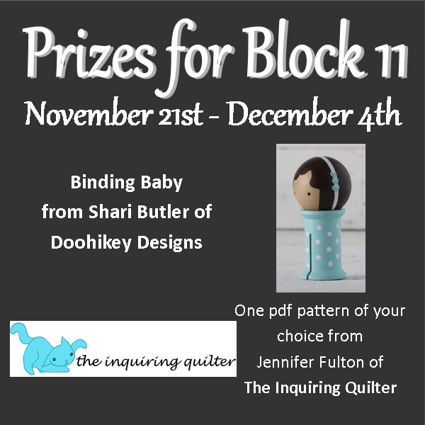 Merry QAL Block 11 Prizes