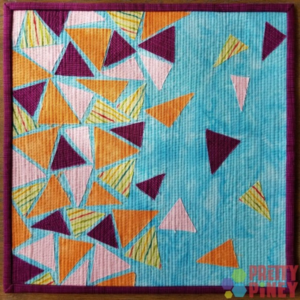 Curated Quilts Triangle Mini