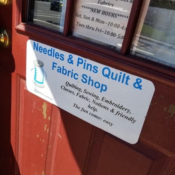 Needles and Pins, Mullica Hill