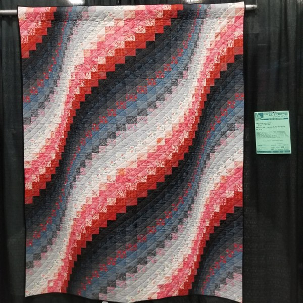 I Didn't Want to Make This Quilt Bargello
