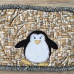 Mug Rug Penguin