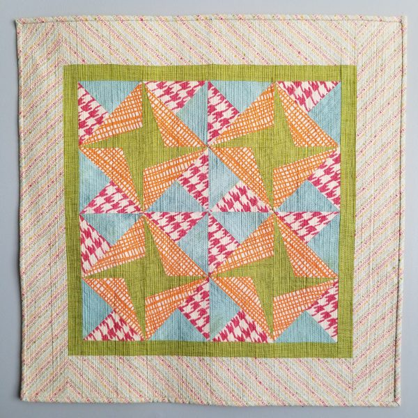 Paper Pieced Quilt Finish