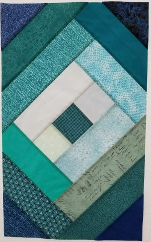 Border Quilt Center Pieced