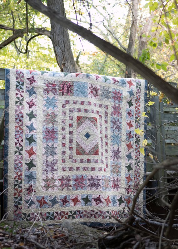 Border Quilt QAL–Seeing Stars