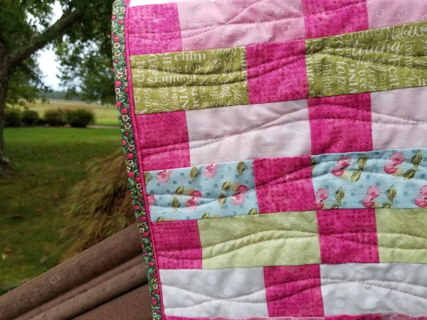 Pretty Please Quilt Faux Flange Binding Tutorial