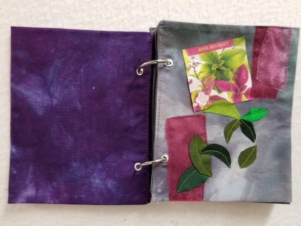 Herb Garden Stitchbook