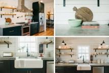 Joanna Gaines Fixer Upper Kitchens Shelves