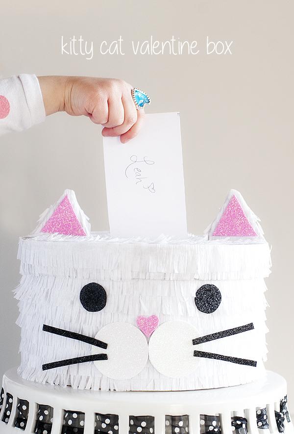 Kitty Cat Valentine Box Pretty Plain Janes