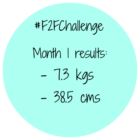 month 1 results
