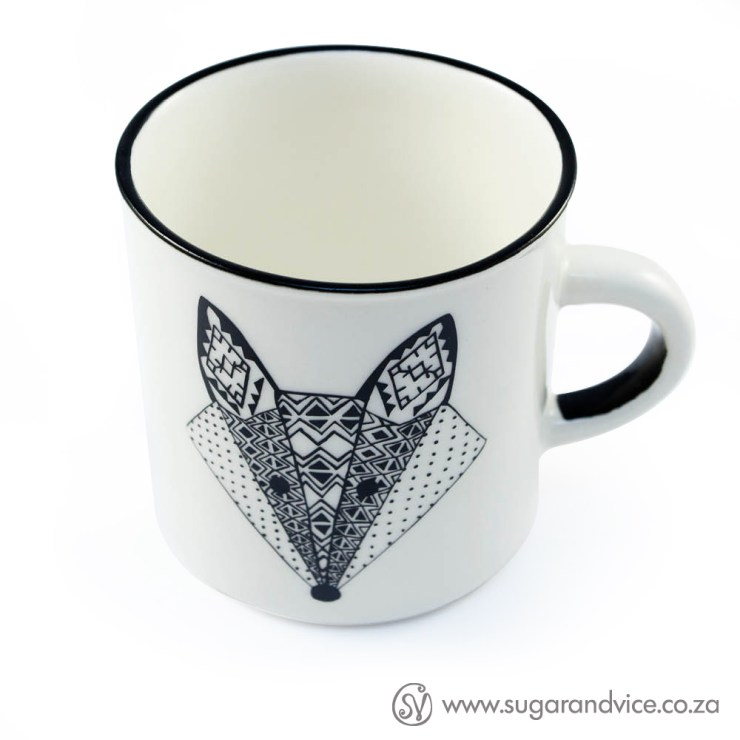 Vixen Ceramic Coffee Mug Sugar & Vice