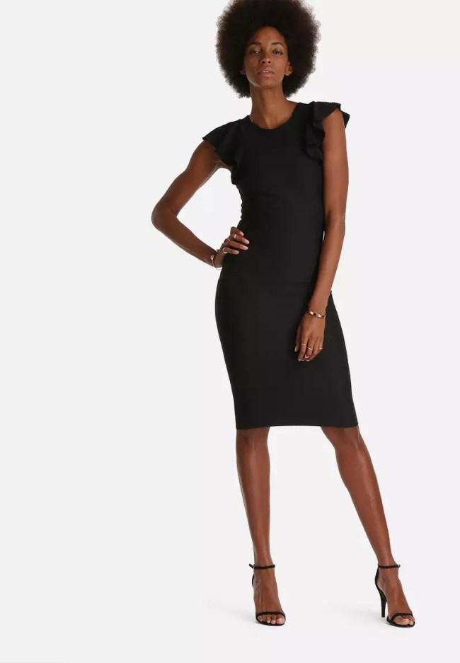 Alice Medi Dress - Black Superbalist
