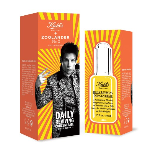 Kiehl's x Zoolander2 Limited Edition Daily Reviving Concentrate