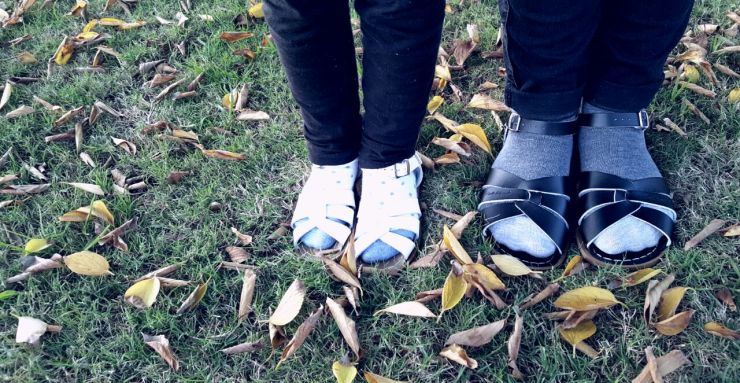 Socks and Sandals Trend Pretty Please Charlie