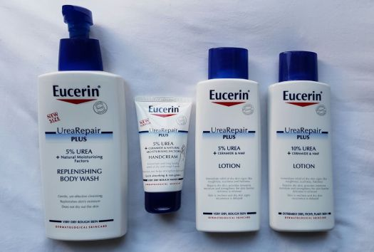 New Eucerin UreaRepair Plus