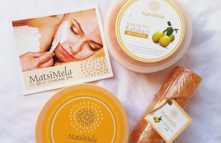 Treats from MatsiMela Home Spa