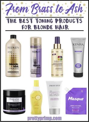 toning products for blonde hair