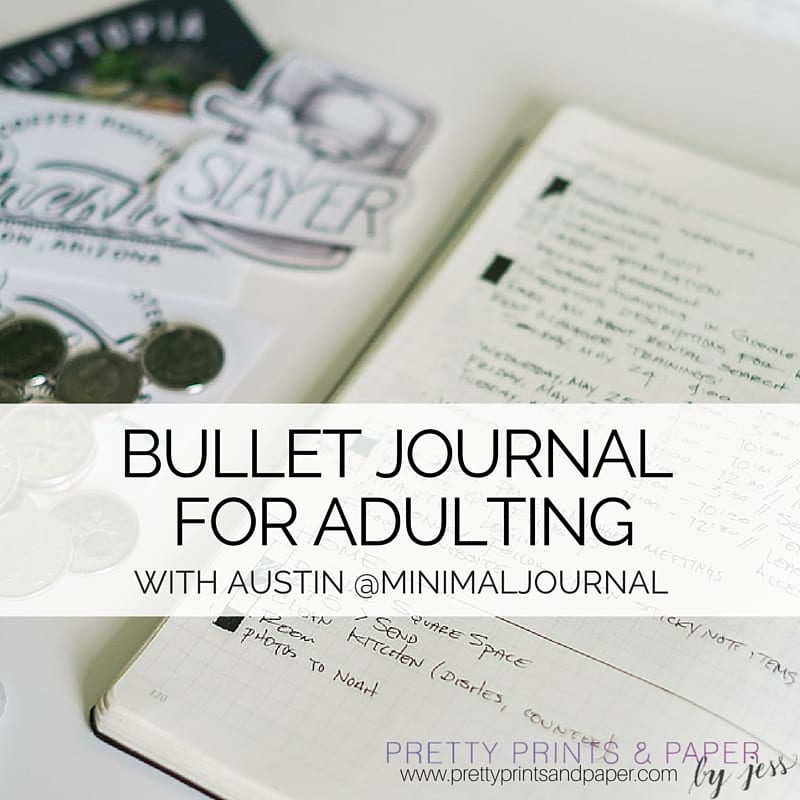 Check out @minimaljournal's take on bullet journaling in adulthood
