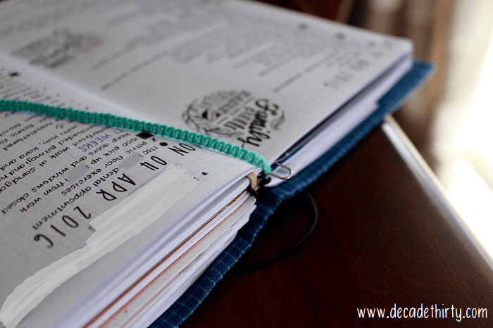 So many bullet journal hacks! See more on the blog! (photo credit Dee Martinez)