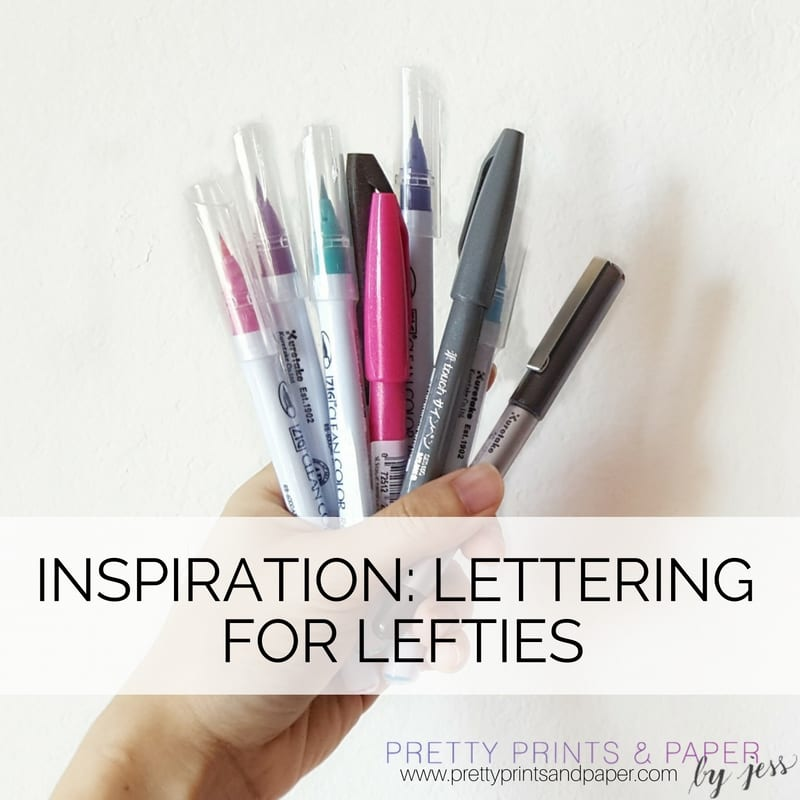 I have some favorite suggestions for you left-handed calligraphers out there!