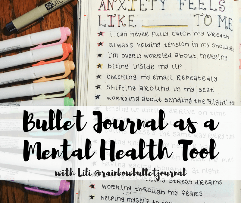Learn about how you can use your bullet journal as a tool for mental health!