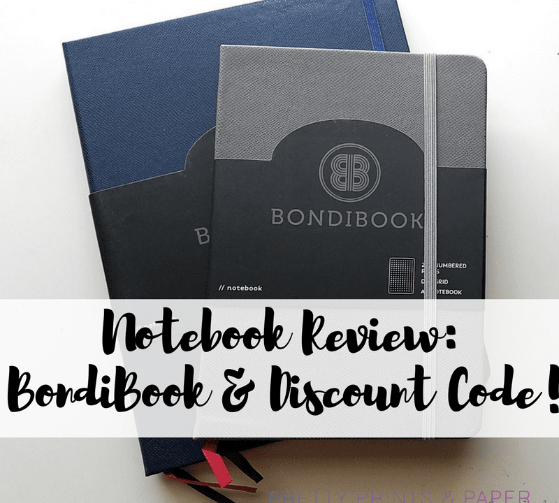 Looking for a new bullet journal notebook to try? Today I review the BondiBook dot grid PLUS have a special BOGO discount