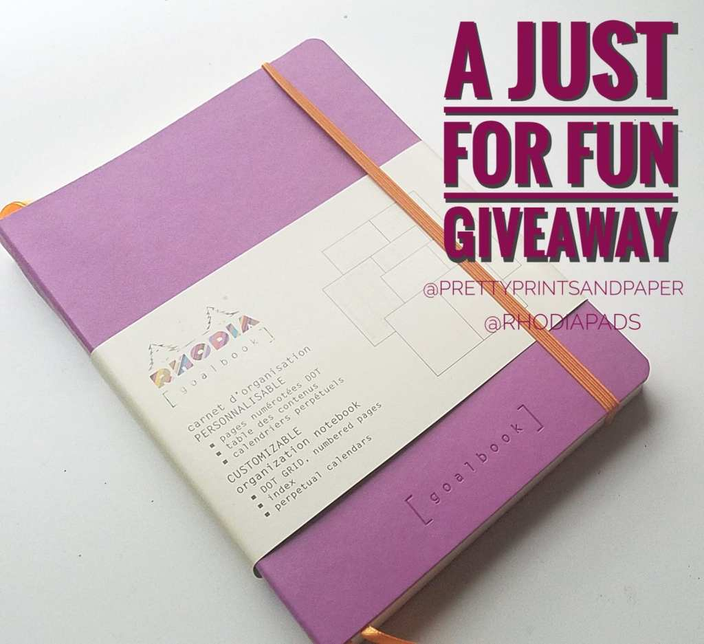 How about a bullet journal giveaway just for fun?