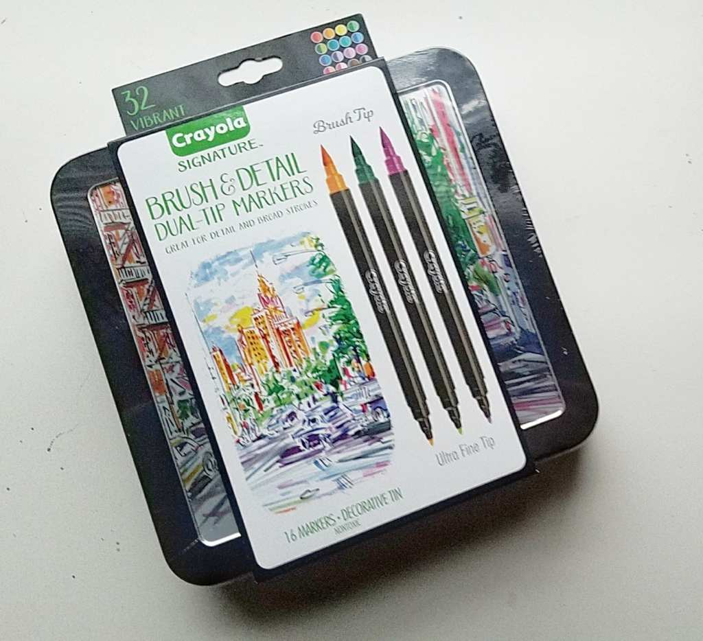 A review of the new Crayola Brush and Detail markers! Are they worth it?