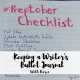 Today Karen shares how her writer's bullet journal keeps her on track for #preptober and #NaNoWriMo