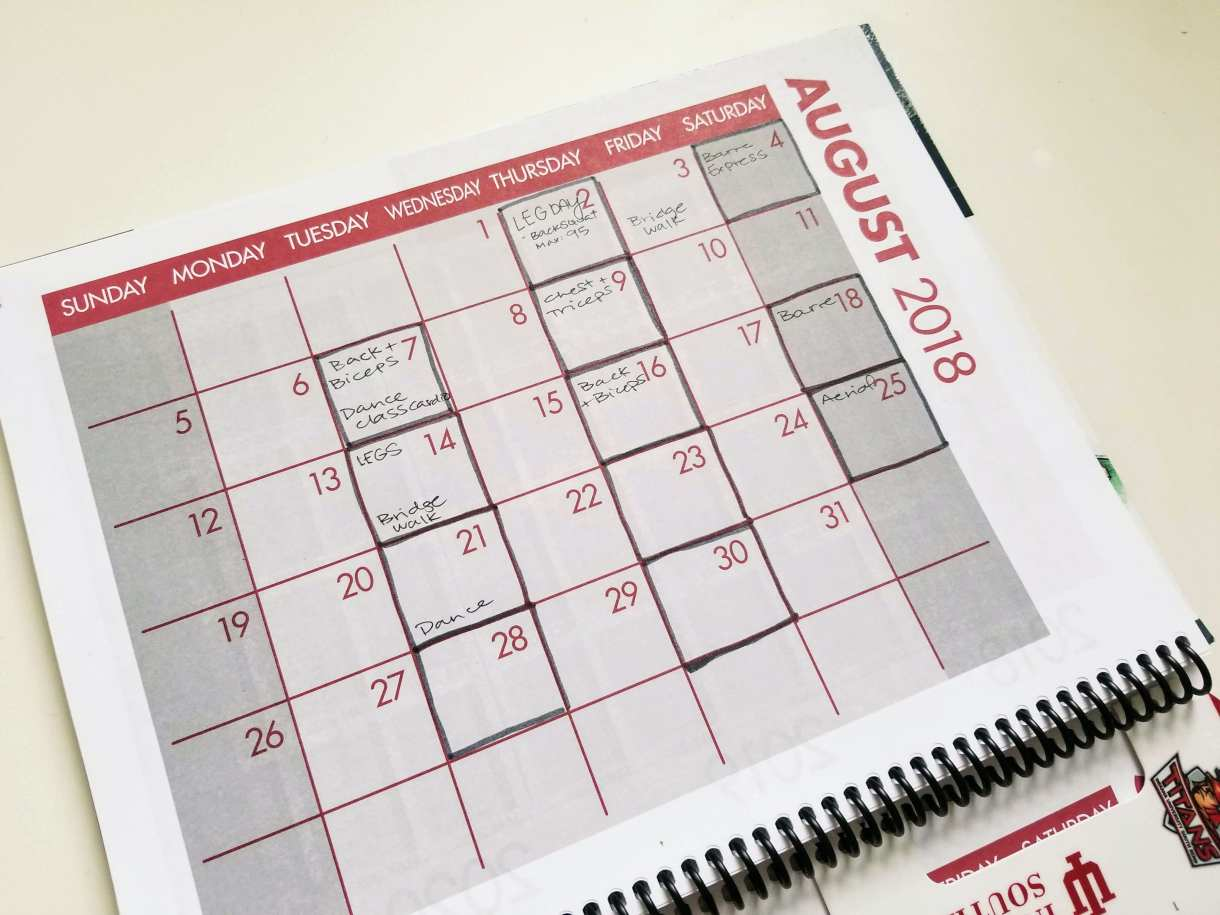 There are so many different monthly calendar ideas you can use!