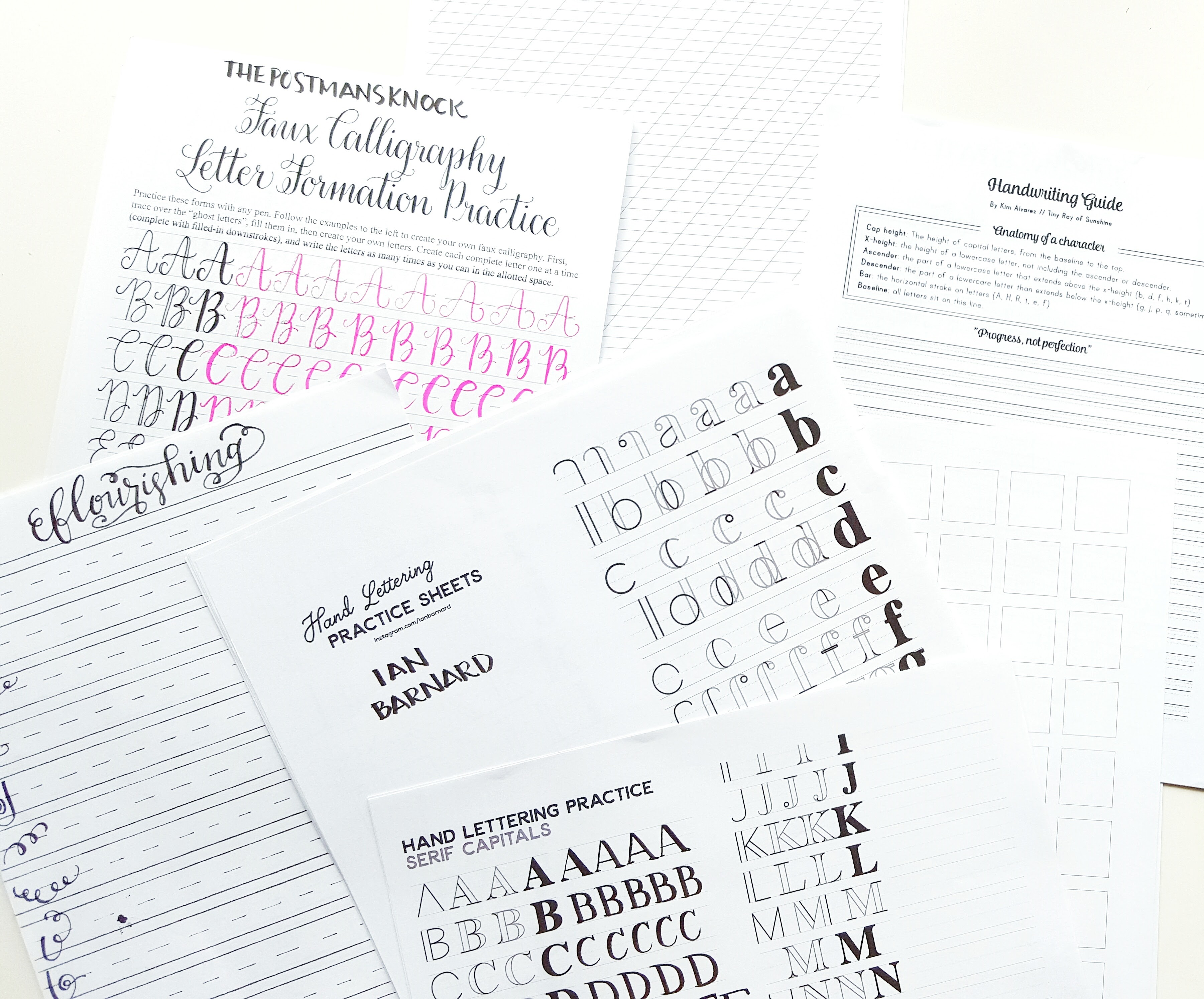 Handwriting Guides Pretty Prints Amp Paper