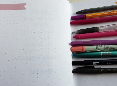 Thinking about trying the Erin Condren notebook for your next bullet journal? Check out my latest review!