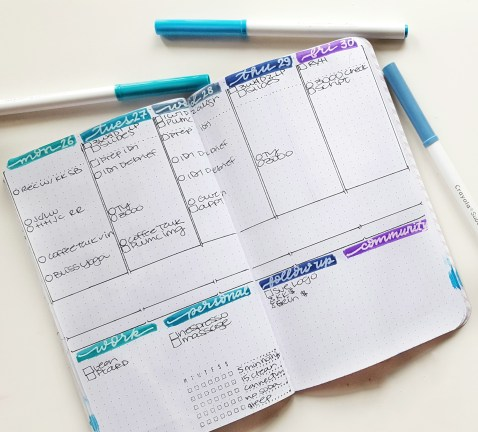 Today I talk about some of my favorite (and not favorite) and bullet journal supplies of October - like these Crayola Supertips
