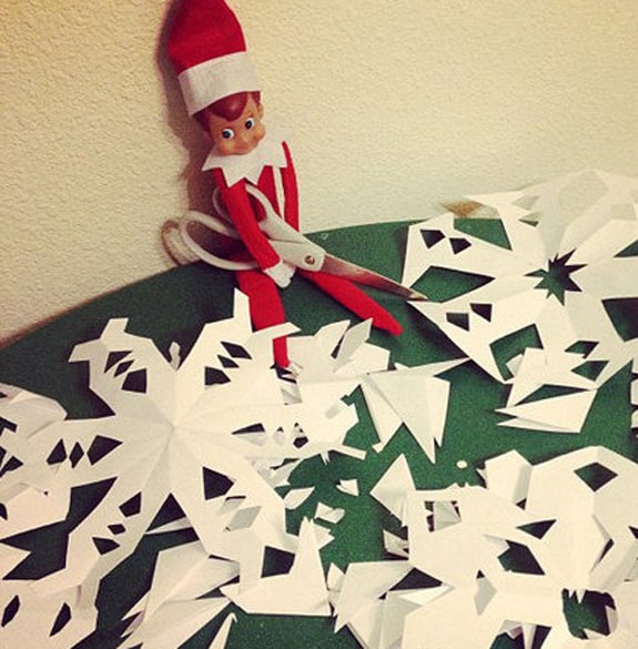 elf on the shelf EF BF BD is back check out these festive shelfie ideas 1