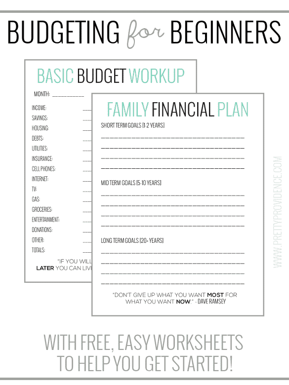 budget worksheets for beginners - April.onthemarch.co