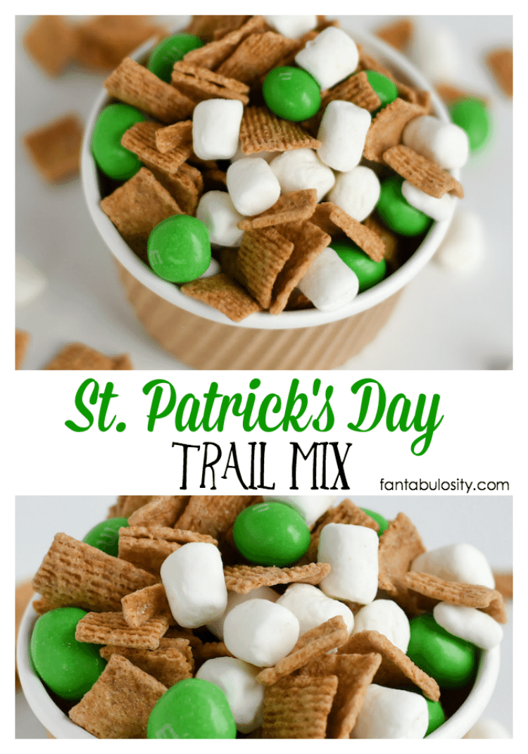 St Patricks Day Trail Mix  Pretty Providence