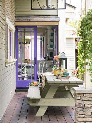 purple back door