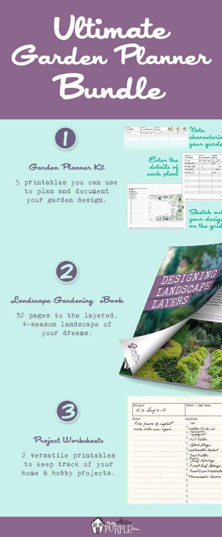 Ultimate Garden Planner Bundle Pinterest Image