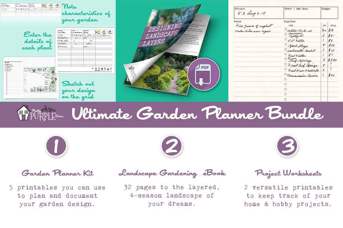 Ultimate garden planner bundle