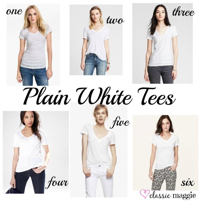 Plain White Tees!