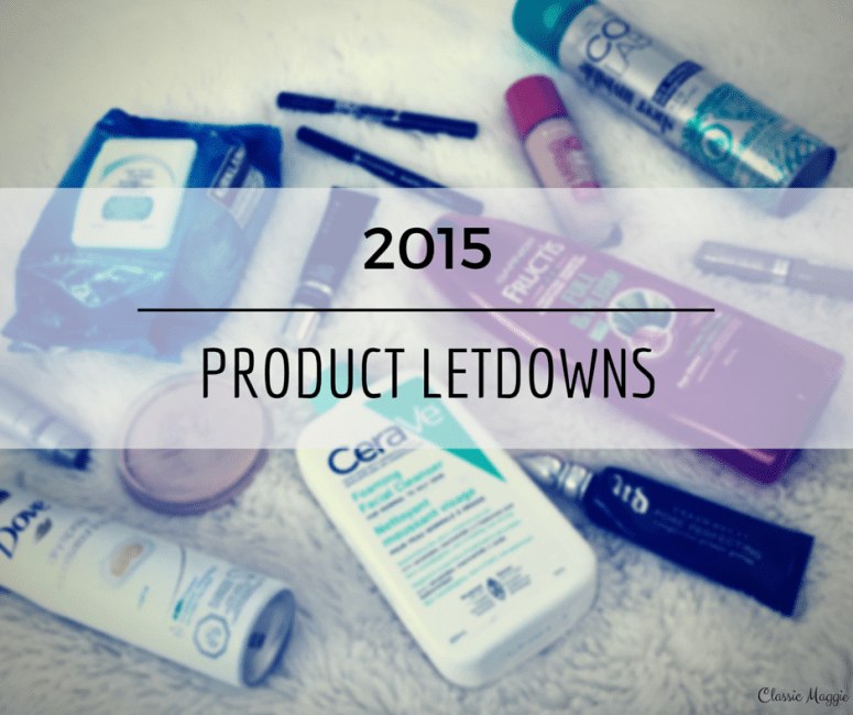 Product Letdowns of 2015