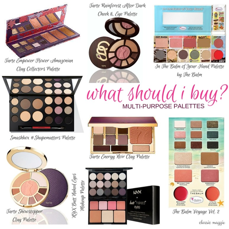 Multi-purpose Makeup Palettes
