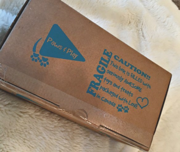 Furkid by Paws & Play February 2016 Box