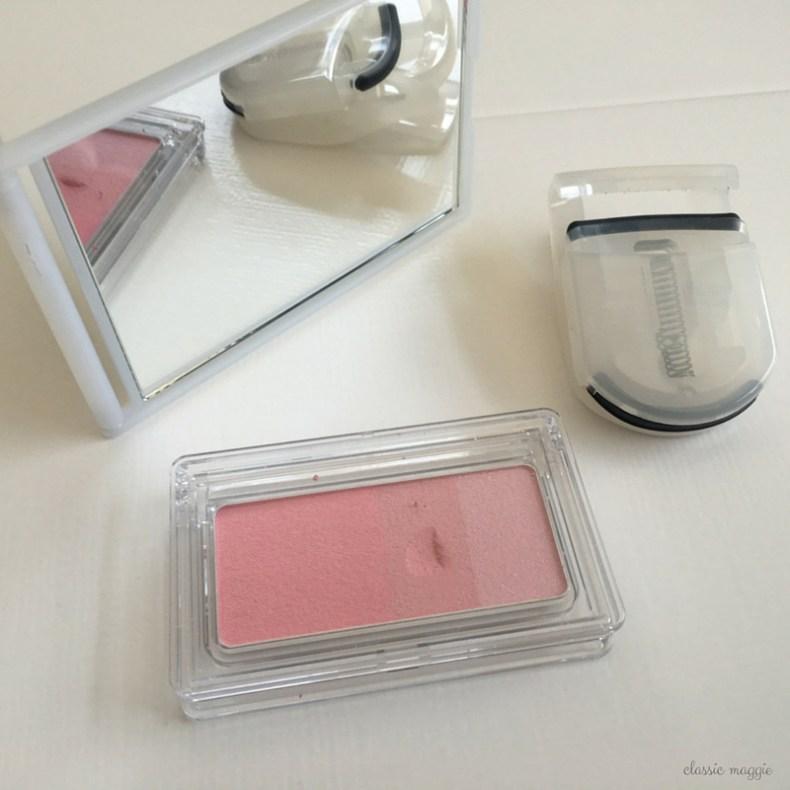 muji blush ecurler mirror