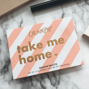 Review: Colourpop Take Me Home Shadow Palette