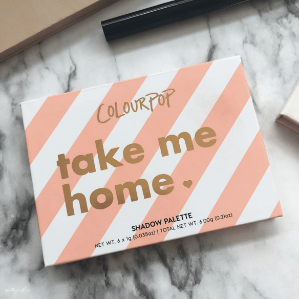 Colorpop Take Me Home Eyeshadow Palette