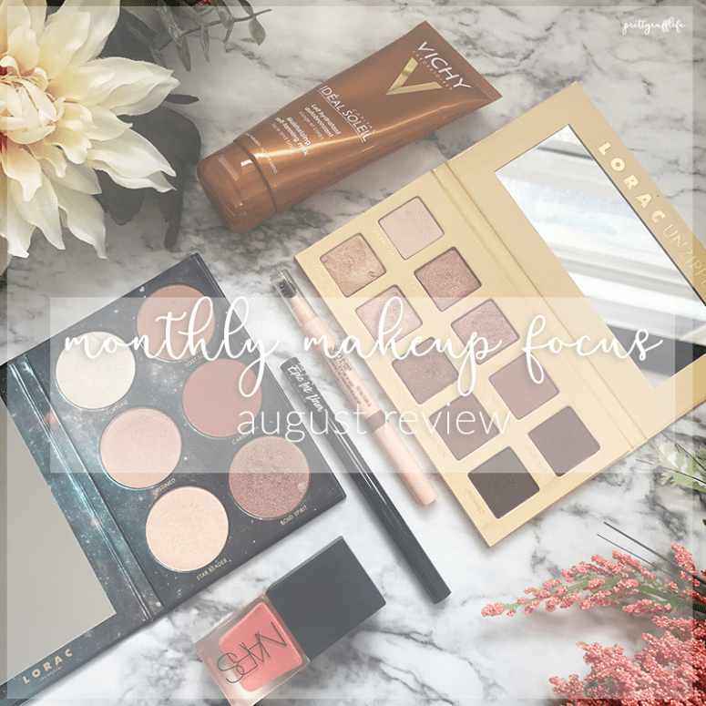 Monthly Makeup Focus – August Review